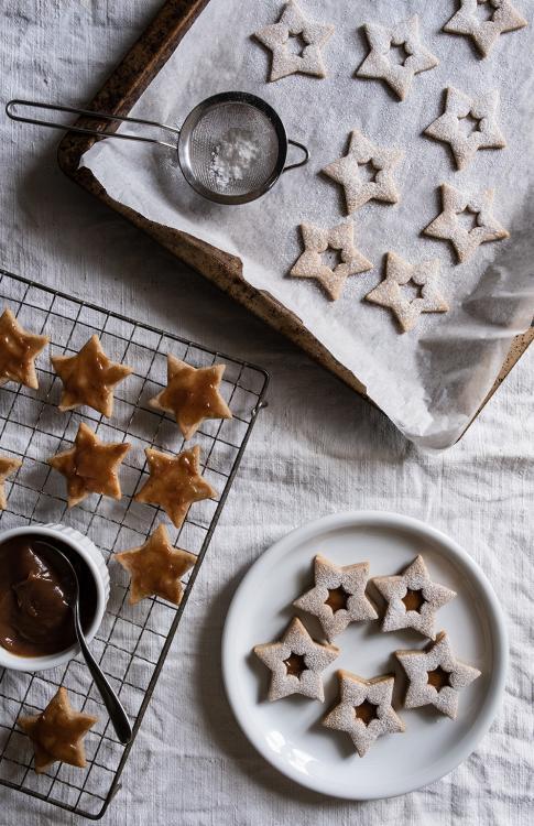 Biscotti alla cannella e crema di castagna