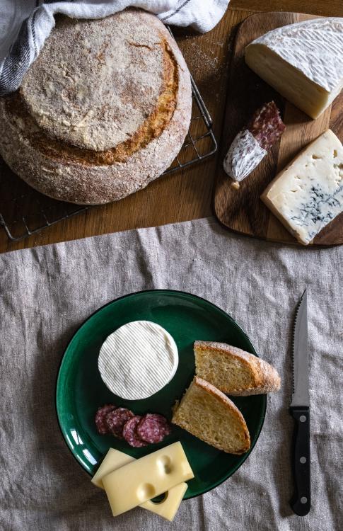 Pane con polenta bramata