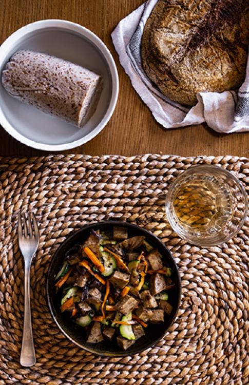 Seitan con farina integrale