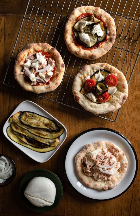Pizza con farina pizzarella