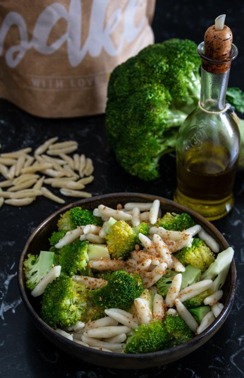 Cavatelli con broccoli e acciughe