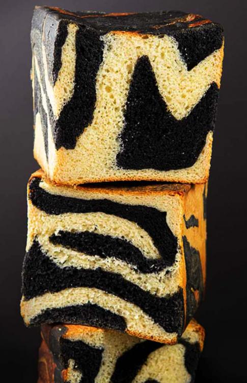 Zebra Buttertoast – einfach einzigartig / Pane Toast Zebrato - semplicemente unico!