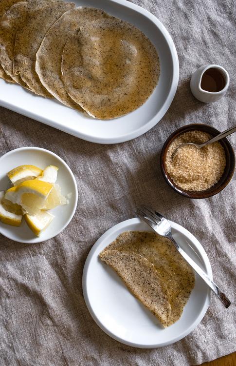 Crêpes grano saraceno