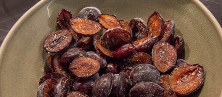 Come congelare la frutta fresca per i vostri dolci