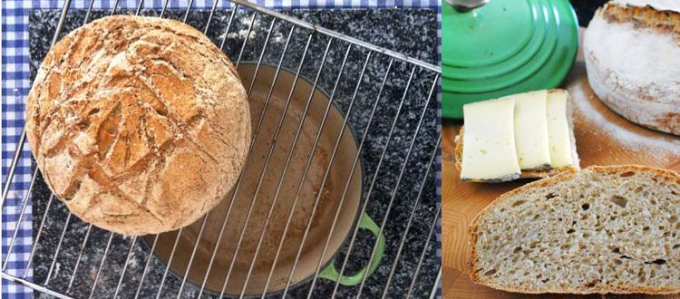 Il pane in pentola