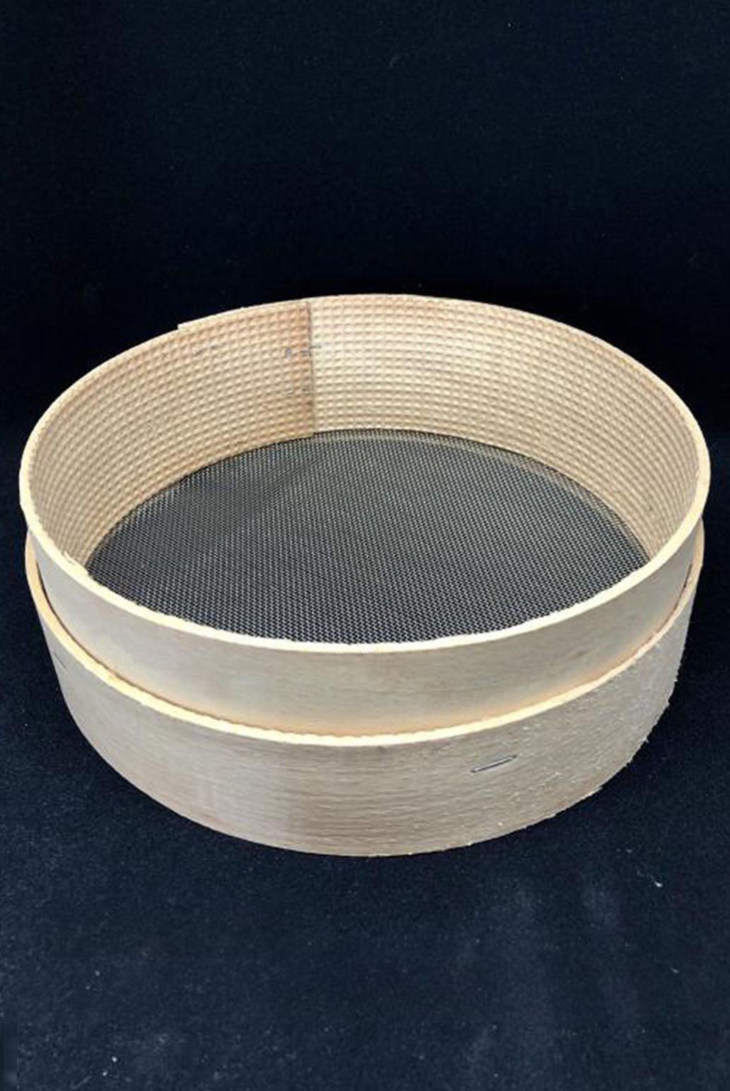 Setaccio farina in legno e inox