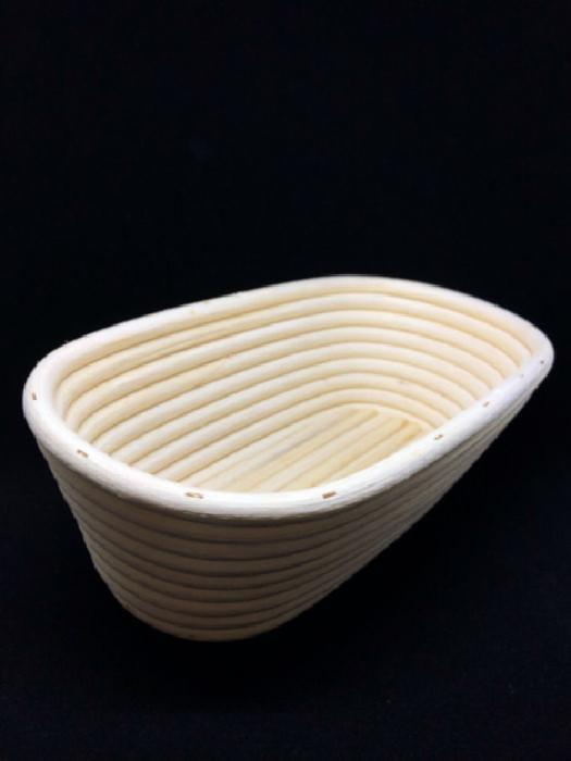 Cestino in legno per lievitazione forma ovale