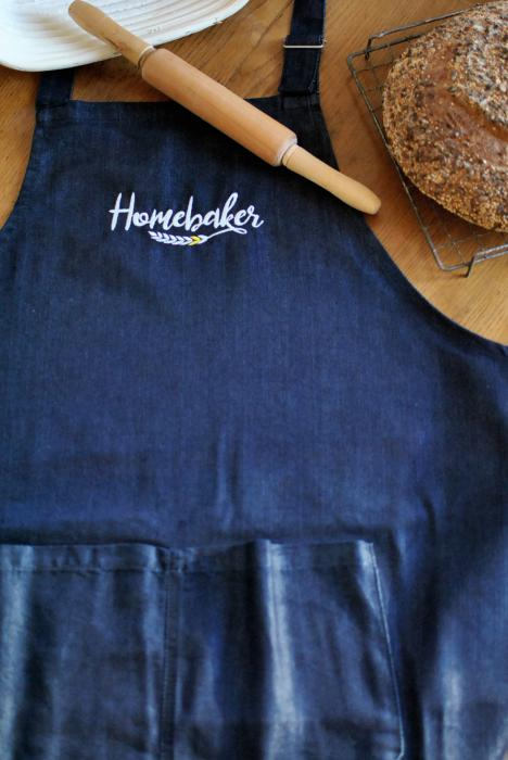 Grembiule Homebaker in Denim Jeans, uomo