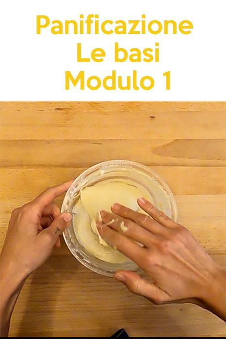 Panificazione domestica - Le basi, Modulo 1